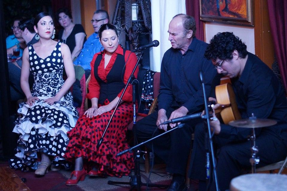 Suspiro Flamenco performs at Carmens de la Calle. Photo by Matt Bynum.