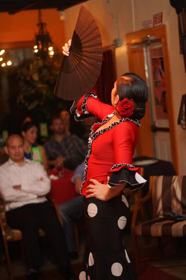Monica Moncivais performs at Carmens de la Calle. Photo by Matt Bynum