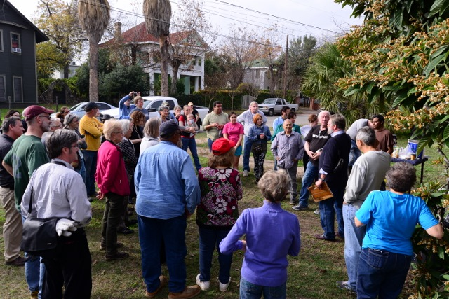 #SaveMiguelsHome cleanup party. Photo by Page Graham.