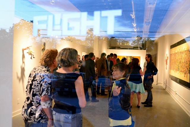 Flight Gallery is among numerous local artist-run spaces. Photo by Page Graham.