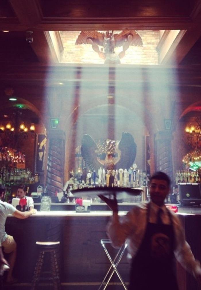 The Mariachi Bar at Mi Tierra in Market Square. Photo by Scott Gustafson.