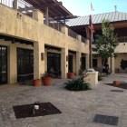 The San Fernando courtyard, tucked behind Main Plaza. Photo by Scott Gustafson.