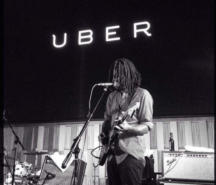 Uber provided free rides to and from the Tobin Center for the Performing Arts grand opening. Courtesy photo.