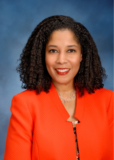 Harriet Dominique, USAA Senior Vice President of Corporate Responsibility and Community Affairs. Courtesy photo.