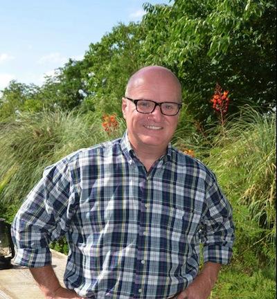 Trinity University Press Associate Director Thomas Payton
