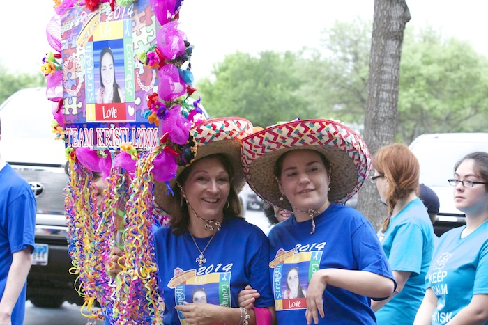 Friends and family celebrate during Any Baby Can's Fiesta. Photo courtesy of Any Baby Can.