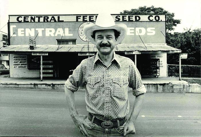 Jim Hightower won Texas agriculture commissioner in 1982. Photo courtesy of Ave Bonar