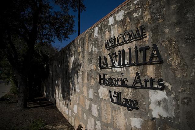 La Villita entrance. Photo courtesy of the City of San Antonio.