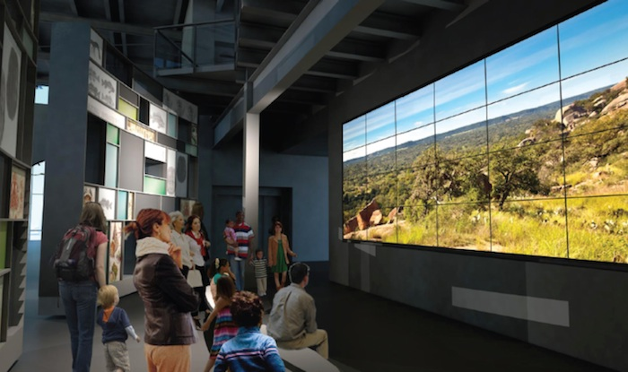 The Orientation Gallery at the new Witte Museum. Rendering courtesy of Lake/Flato Architects.