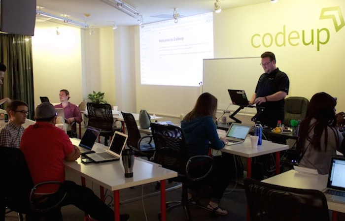 Class is in session at Codeup. Courtesy photo.