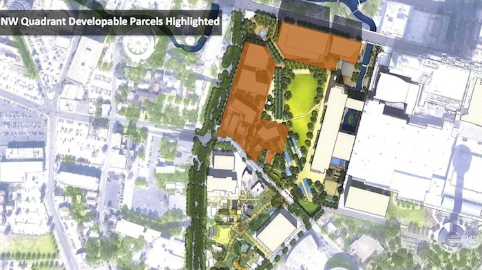 developable parcels hemisfair update March 2015