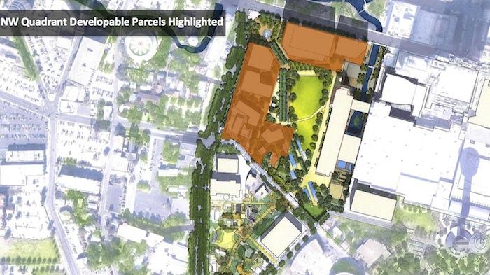 developable parcels hemisfair update March 2015
