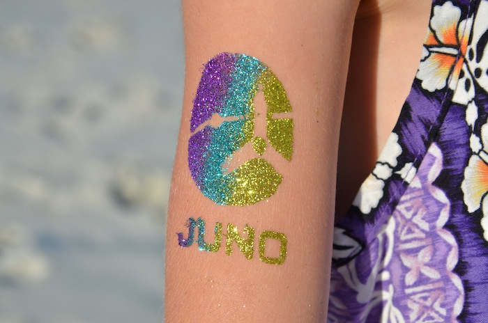 Kids took part in Juno's post-launch celebrations which took place at the Astronaut Beach House. This special place lies near the launch pads at Kennedy Space Center and has long been a refuge for the astronauts to relax in private with their families before each launch. Photo by Frederic Allegrini.