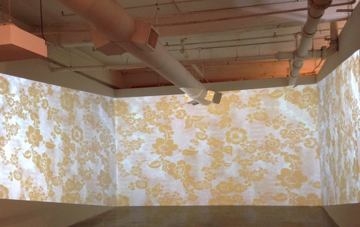 """Karen Mahaffy's installation at Blue Star Contemporary Art Museum's """"Back from Museum"""" exhibit. Courtesy photo."""