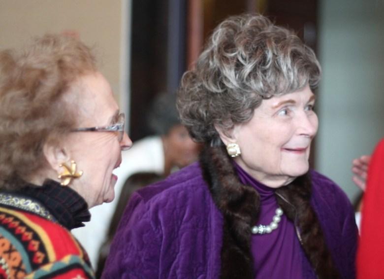 San Antonio's former Mayor Lila Cockrell attends the ninth annual International Women's Day luncheon. Photo by Amanda Lozano.