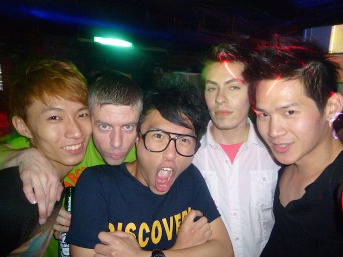 """Night out at Taipei's """"Funky"""" dance club. Courtesy Photo."""