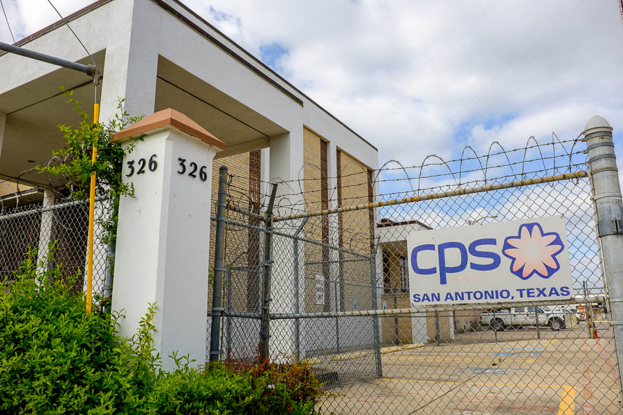 CPS Energy conveyed the building at 326 E. Jones Ave. as well as more than three acres of land to CPS Energy. Photo by Scott Ball.