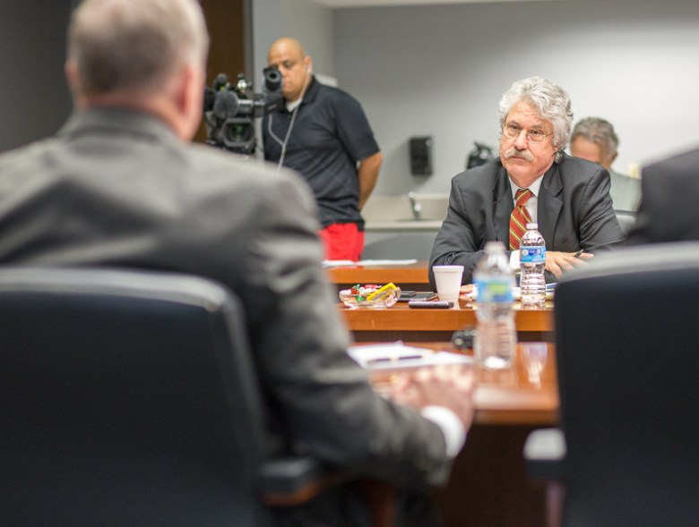 Houston attorney Jeff Londa, the City's lead negotiator. Photo by Scott Ball.