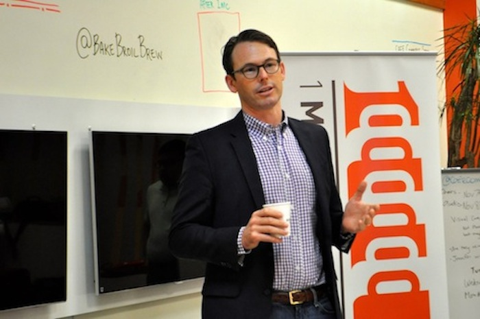 Café Commerce President Peter French talks about Break Fast and Launch, a Café Commerce program that helps culinary startups. French and Break Fast and Launch director Ryan Salts will speak about their experiences in local entrepreneurship at South by Southwest. File photo.