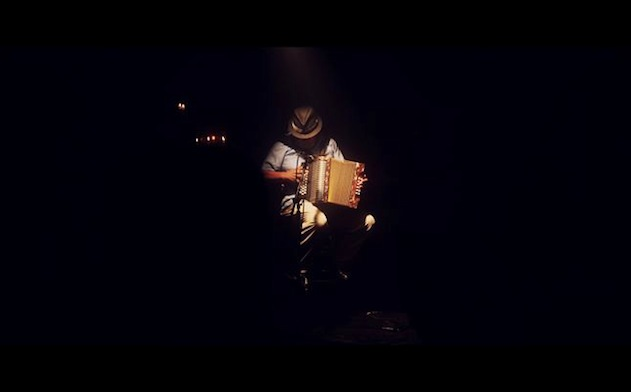 """Pedro Castañeda is the lead in """"Squeezebox,"""" a short film that was set and filmed in San Antonio and was recently screened at CineFestival. Courtesy image."""
