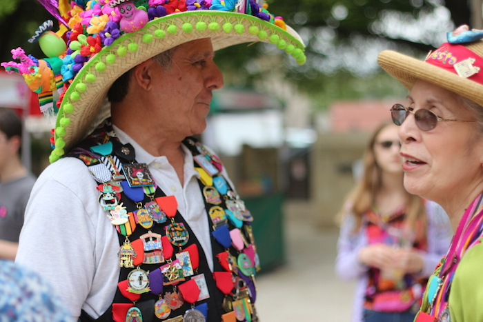 Colors were abundant during the Fiesta Arts Fair. Photo by Joan Vinson.