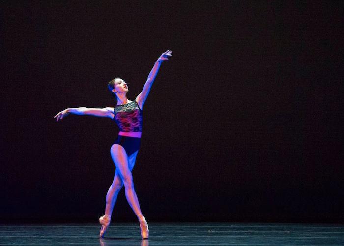 """Principal Dancer Sally Turkel in """"Arvo."""" Photo by Alexander Devora."""