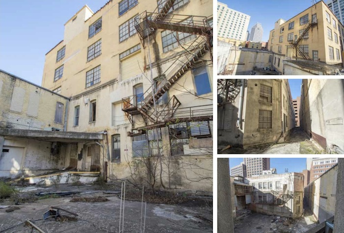 Conditions of the exterior of the Clegg Company Building. Images courtesy of Overland Partners.