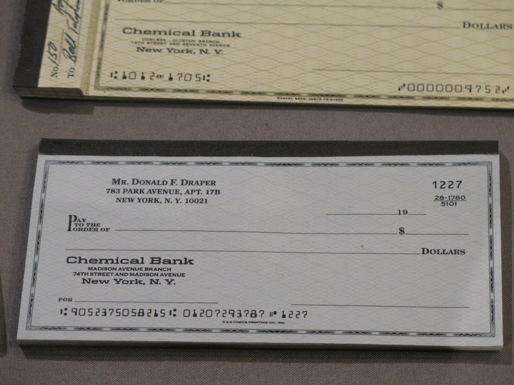 """A prop from """"Mad Men,"""" that will be included in the Smithsonian exhibit. Photo courtesy of Creative Civilization."""