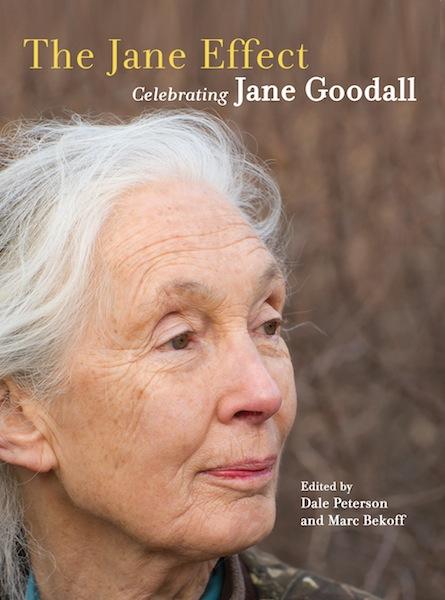 """The Jane Effect: Celebrating Jane Goodall"" book cover. Courtesy image."