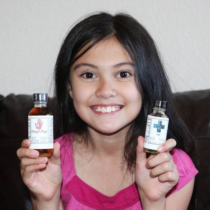 Alexis Bortell has an extreme form of epilepsy that has improved under a CBD and THC treatment regimen in Colorado. Photo courtesy of Team Alexis Facebook page.