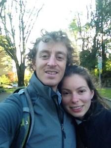 Corey Squire and Helena Zambrano