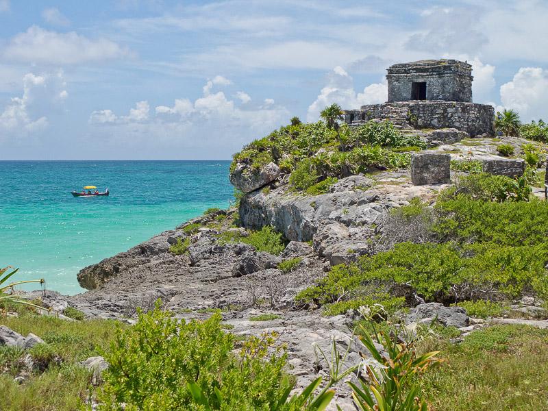 Temple of the God Wind, Tulum, Quintana Roo, Mexico. Courtesy Photo.