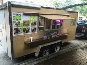 Vietnamese Cuisine food truck in St. Paul Square. Photo by Jacqueline Fierro.
