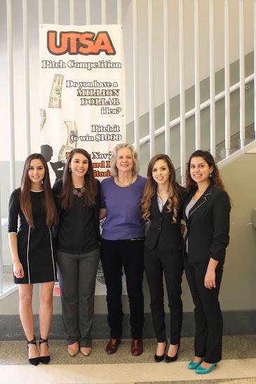 From left to right in the picture: Maria Acevedo, Amanda Johnson, Dr. Anita Leffel, me (Kimberly Todd), and Sarah Olivarez. Photo courtesy of Kimberly Todd.