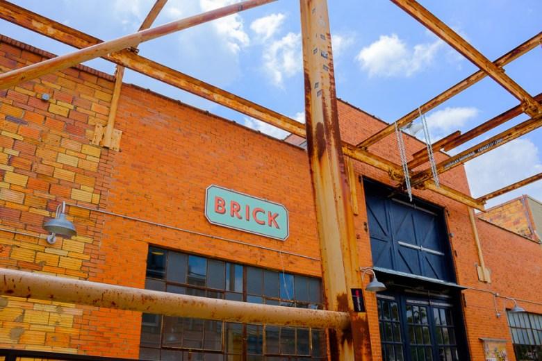 Brick at the Blue Star Arts Complex. Photo by Scott Ball.