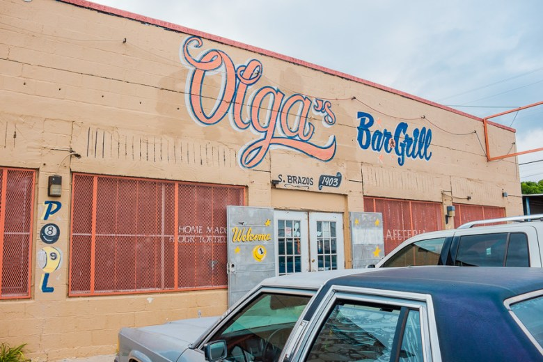Olga's Bar and Grill. Photo by Scott Ball.