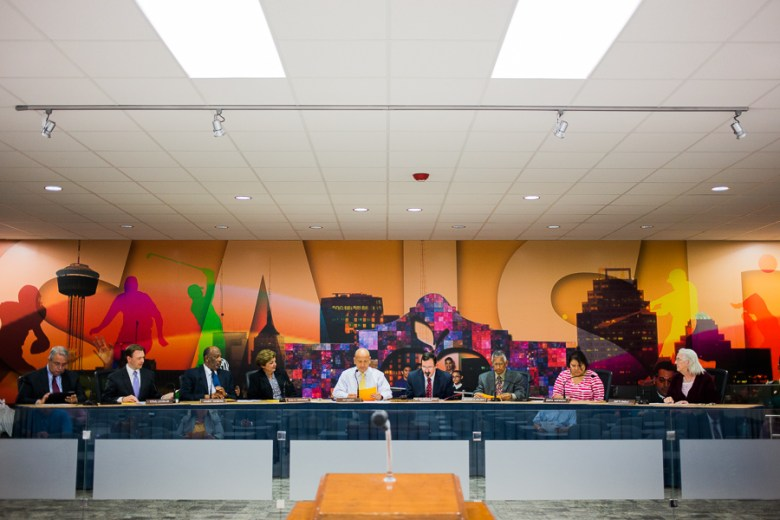 The SAISD Board. Photo by Scott Ball.