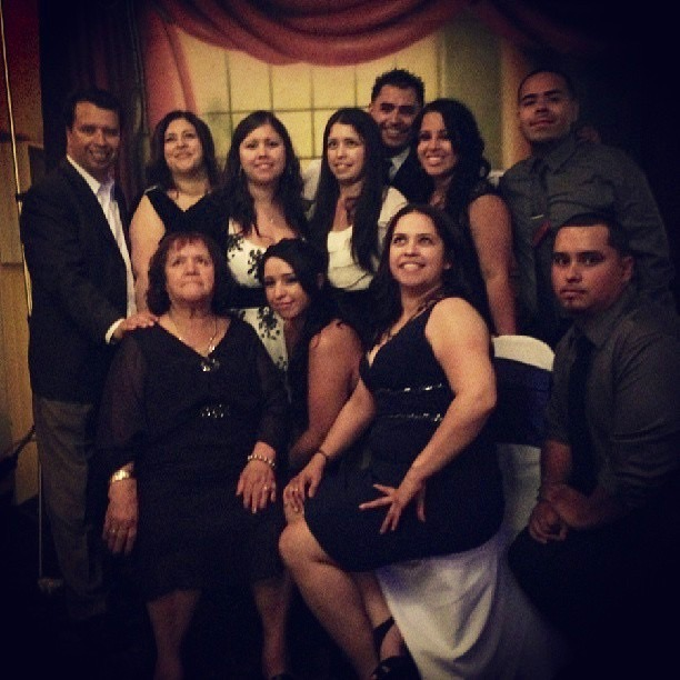 The Martinez Family gathers for a photo on August 4, 2013 for a quinceañera. Courtesy photo.