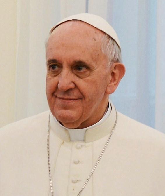Pope Francis. Public domain image.