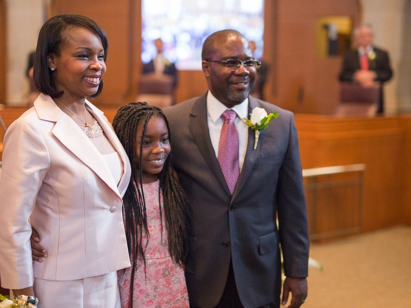 The Taylor Family (left to right) Ivy, Morgan, and Rodney Taylor. Photo by Scott Ball.