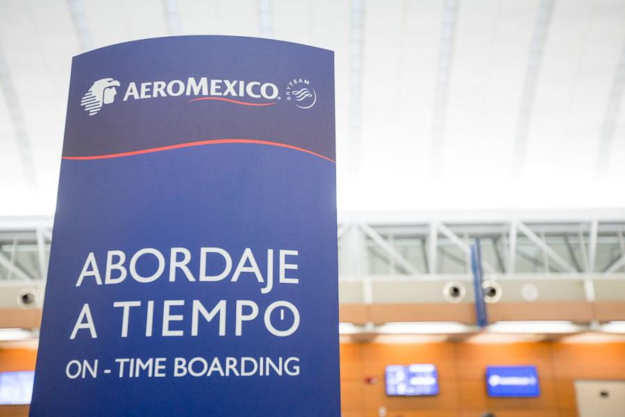 AeroMexico. Photo by Scott Ball.