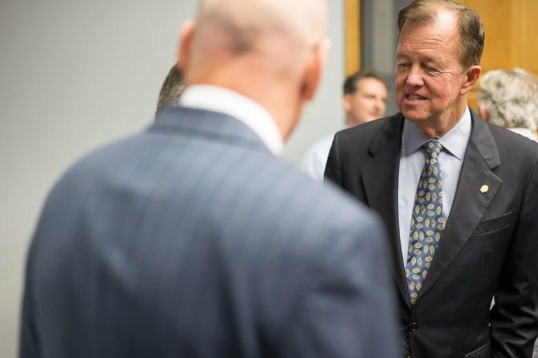 Council member Joe Krier (D9). Photo by Scott Ball.