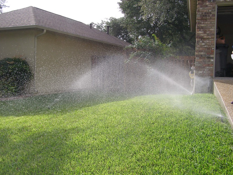 Stage III water restrictions allow irrigation watering only once every two weeks. Photo courtesy of SAWS.