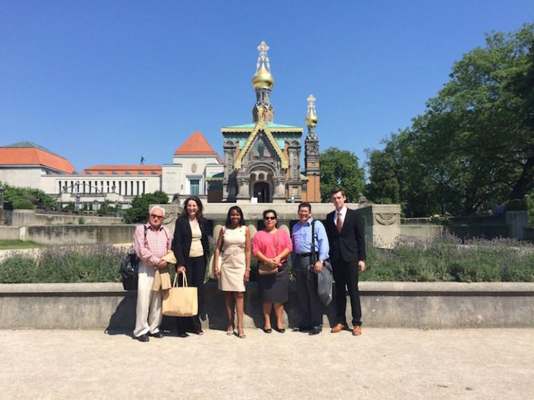 Darmstadt Artists Colony - Dr Chiscano, Sherry D, Mayor, CW, Perez, JL