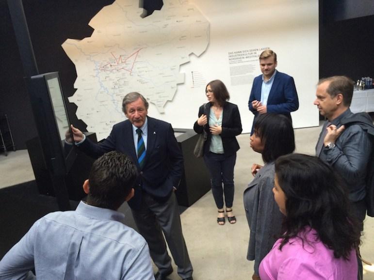 Essen - World Heritage Site Zeche Zollverein CEO Hermann Marth welcomes SA group 3