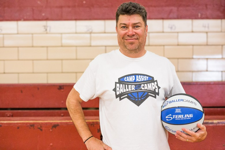 BALLER Camps Executive Director Lance Lewis. Photo by Scott Ball.