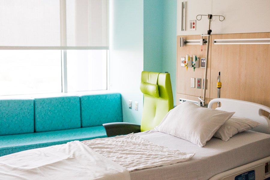 A room at the Children's Hospital of San Antonio.