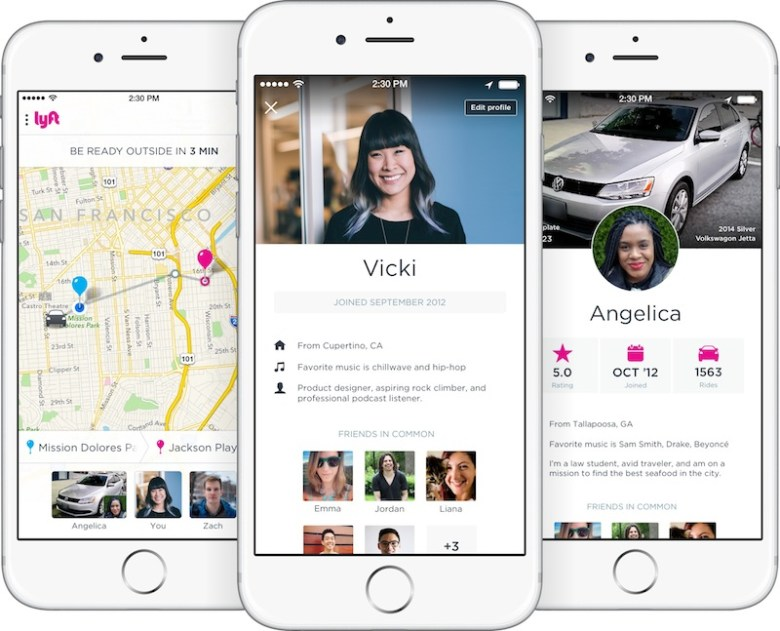 """Lyft driver profiles include somewhat """"innocuous"""" information today, but the platform in San Antonio will soon add a field for drivers to indicate if they've been through the City's 10-print background check."""