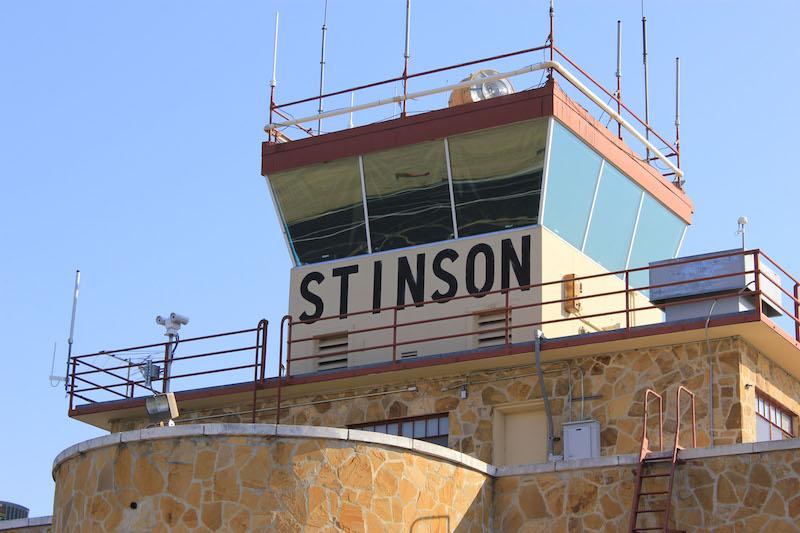 Stinson Municipal Airport. Photo courtesy of the City of San Antonio.