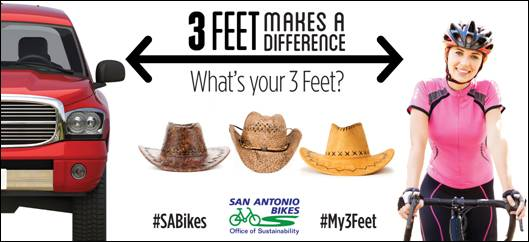 passing ordinance what's your 3 feet SA Bikes